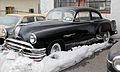 1954 Pontiac Chieftain Special Six two-door sedan in snow.jpg