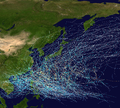 1960-69 Pacific typhoon seasons summary map.png