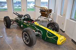 1964 Indianapolis 500 - Image: 1964Indy 500Lotus Pole