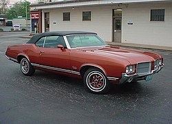 Oldsmobile Cutlass Supreme Convertible (1971)