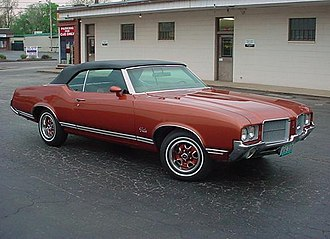Oldsmobile Cutlass - 1971 Oldsmobile Cutlass Supreme Convertible