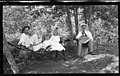 198. Party at H.L Beal's Cottage, Stoney Lake, 1911 - H. Beal, Bob Beal, Amy Beal & J. W. Carey (26430937952).jpg