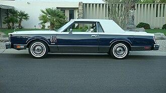 Lincoln Continental Mark VI - 1980 Continental Mark VI Bill Blass Edition