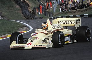 Thierry Boutsen Belgian former racing driver