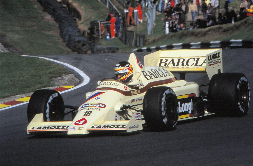 1985 European GP Boutsen