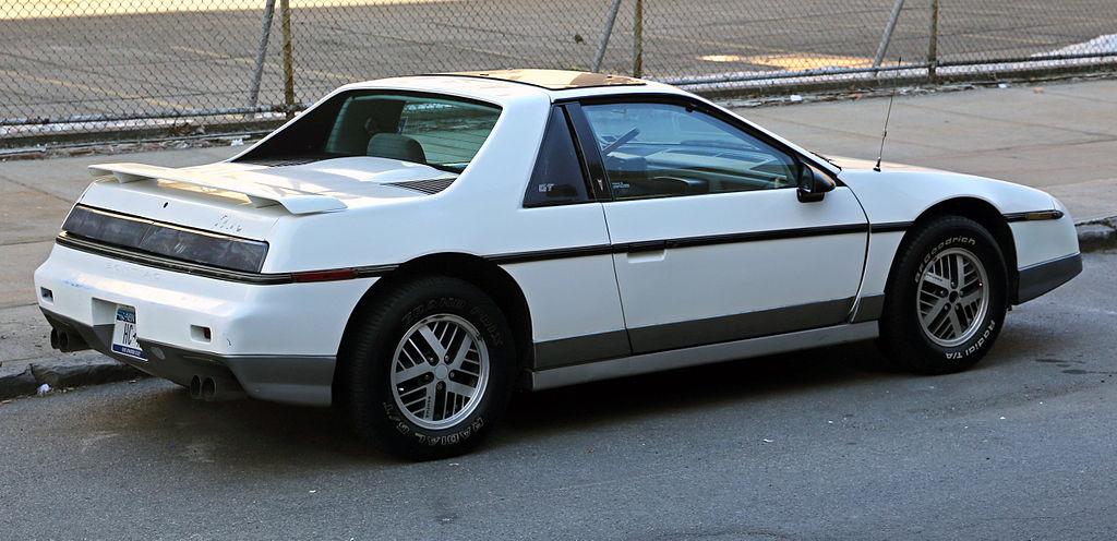 File:1985 Pontiac Fiero GT rear right.jpg