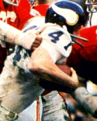Super Bowl IV - Vikings running back Dave Osborn scored the team's only touchdown in Super Bowl IV.