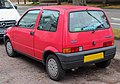 1995 Fiat Cinquecento 900cc Rear.jpg