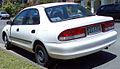 1997-1998 Ford Laser (KJ III (KM)) LXi sedan 01.jpg