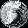 Georgia quarter