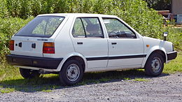 1st Nissan March Rear.jpg