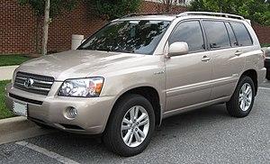 Toyota Highlander - Highlander Hybrid Limited