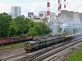 2М62У-0200, Russia, Moscow, Kanatchikovo station (Trainpix 15028).jpg