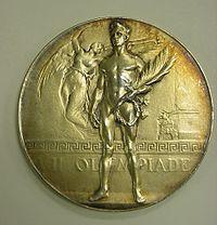 Medal z Igrzysk Olimpijskich 1920
