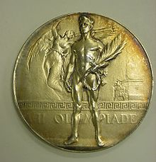 Medal from the 1920 Olympics