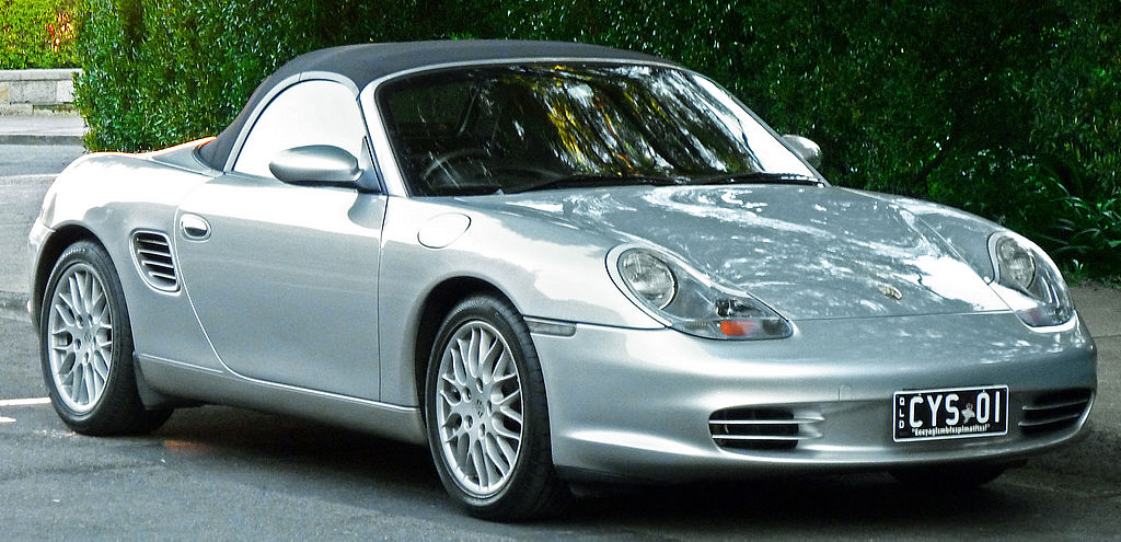 Bestand 2002 2004 Porsche Boxster 986 Convertible 2012