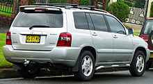 2003 2007 Kluger Grande Australia