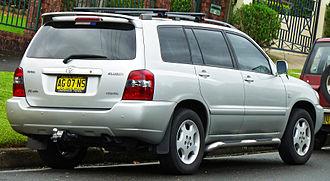 Toyota Highlander - 2003–2007 Kluger Grande (Australia)