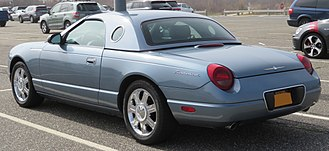 Ford Thunderbird (eleventh generation) - Ford Thunderbird hardtop