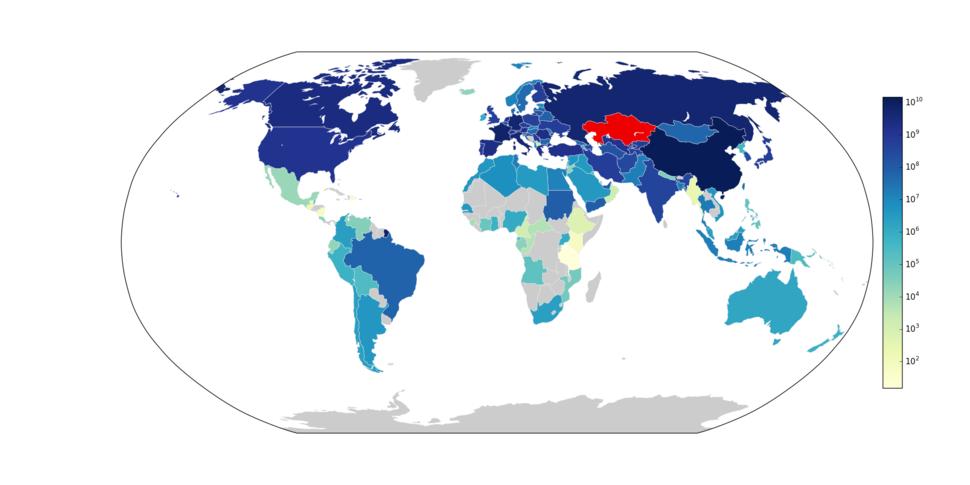 2006Kazakhstani exports