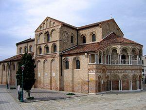 1140s in architecture - Image: 2006 Murano Santa Maria e San Donato