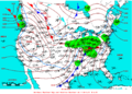 2009-01-10 Surface Weather Map NOAA.png