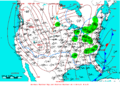 2009-01-20 Surface Weather Map NOAA.png