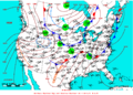 2009-05-08 Surface Weather Map NOAA.png