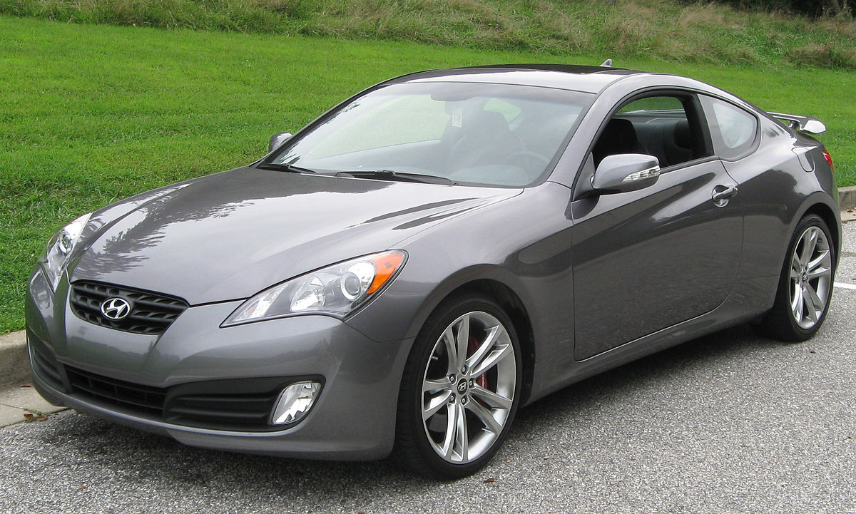 hyundai genesis coupe - photo #1