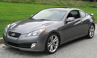 Hyundai Genesis Coupe Motor vehicle