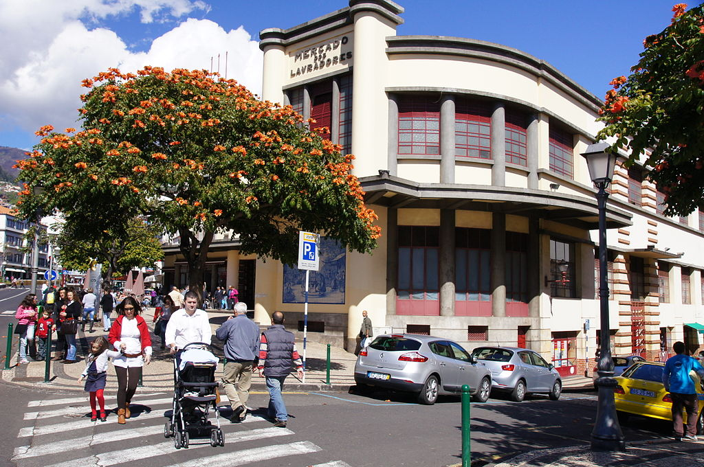2011-03-05 03-13 Madeira 148 Funchal, Mercado dos Lavradores