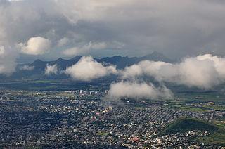 Quatre Bornes Town in Plaines Wilhems, Mauritius
