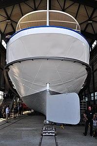 2012 'Tag der offenen Werft' - ZSG Werft Wollishofen - Dampfschiff Stadt Zürich (Renovation) 2012-03-24 14-23-40.JPG