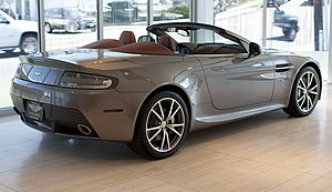 Aston Martin Vantage (2005) - Aston Martin V8 Vantage Roadster