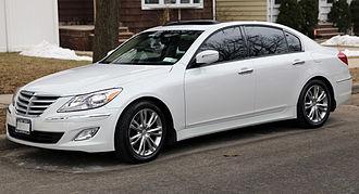 Hyundai Genesis - 2012 facelift