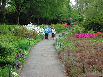 Fort Tryon Park - Image: 2014 Fort Tryon Park Heather Garden