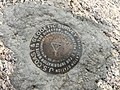 2015-05-03 12 02 24 U.S. Coast and Geodetic Survey marker on the summit of Boundary Peak, Nevada.jpg
