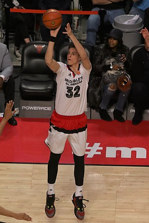 Zach Collins - Collins playing in the 2016 McDonald's All-American Boys Game