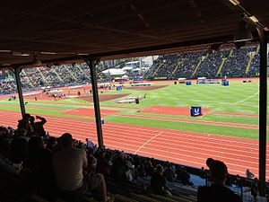 2016 United States Olympic Trials (track and field) - Image: 2016 Olympic Track & Field Trials Eugene, Oregon 04