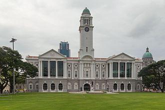 Legislative Council of Singapore - Image: 2016 Singapur, Downtown Core, Teatr Wiktorii i Hala Koncertowa (02)