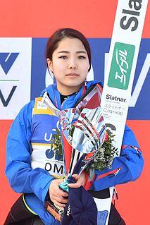 Sara Takanashi Japanese ski jumper