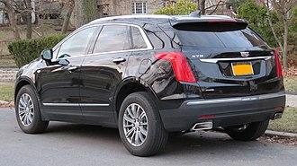 Cadillac XT5 - Cadillac XT5 (rear view)