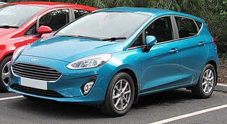 Ford Germany - Image: 2017 Ford Fiesta Zetec Turbo 1.0 Front