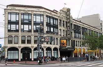Theatre District, San Francisco - Image: 2017 Orpheum Theatre