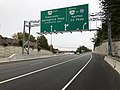 2018-10-26 14 04 33 View south along Virginia State Route 286 (Fairfax County Parkway) at the exit for Virginia State Route 289 (Franconia-Springfield Parkway) in Newington, Fairfax County, Virginia.jpg