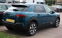 2018 Citroen C4 Cactus Flair BlueHDI S facelift 1.6 Rear.jpg