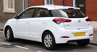 Hyundai i20 - Pre-facelift 5-door