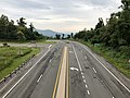 2019-08-13 09 12 10 View east along U.S. Route 211 (Lee Highway) from the overpass for Virginia State Route 48 (Skyline Drive) at Thornton Gap within Shenandoah National Park on the border of Page and Rappahannock Counties in Virginia.jpg