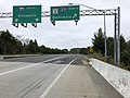 2019-10-03 10 20 45 View east along Maryland State Route 32 (Patuxent Freeway) at the exit for Interstate 97-Maryland State Route 3 NORTH (Baltimore) in Millersville, Anne Arundel County, Maryland.jpg