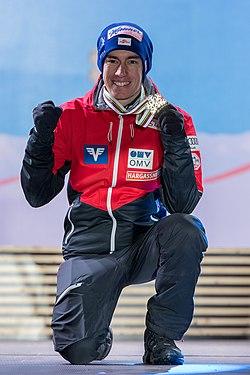 20190302 FIS NWSC Seefeld Medal Ceremony Stefan Kraft 850 6737.jpg